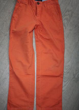Стильные, модные  джинсы ф.tommyhilfiger р-134/140 идеальное с...