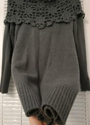 Эффектная теплая туника -платье *80*