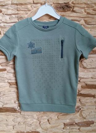 Теплая футболка kiabi (франция) на 4-5 лет (размер 108-113)