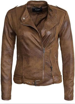Актуальная,стильная куртка,косуха от vila clothes.
