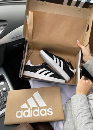 Adidas gazelle женские кроссовки адидас газель замшевые (весна...