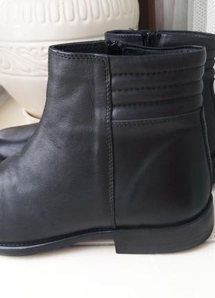 41 р кожаные утепленные демисезонные ботинки john richardo
