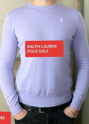 Polo golf ralph lauren exclusive l/40 шикарный джемпер из чист...
