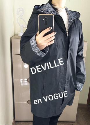 Sale deville en vogue m/38 стильная женская куртка ветровка с ...