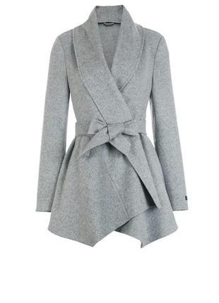 Шерстяное пальто кардиган накидка only пиджак