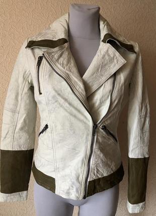 Кожаная куртка косуха  luis campoy ( италия)
