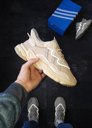 Adidas ozweego baige шикарные мужские кроссовки адидас