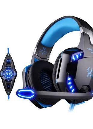 Новые Игровые наушники Kotion Each G2200 7.1 Vibration объемны...