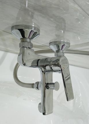 Установка и ремонт смесителя ванной (душа)