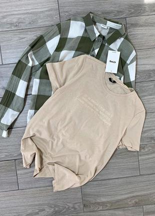 Женская хлопковая футболка новая