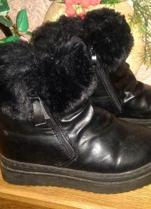 Ботинки  зима на платформе