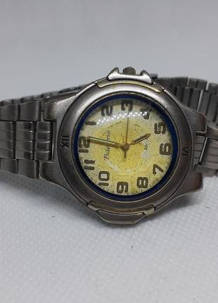 Часы philip persio с металлическим браслетом, винтажные, кварц...