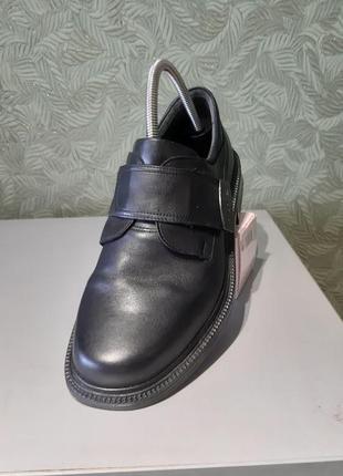 Marc кожаные мужские туфли ботинки размер 41р