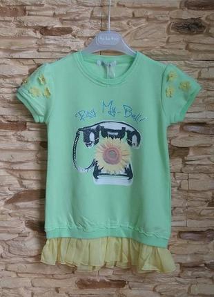 Платье gaialuna (италия) на 8-9 лет (размер 130)