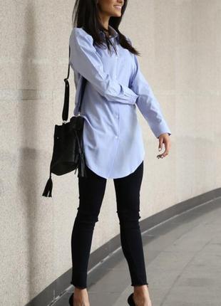 Очень красивая блуза рубашка оверсайз бренда lesara