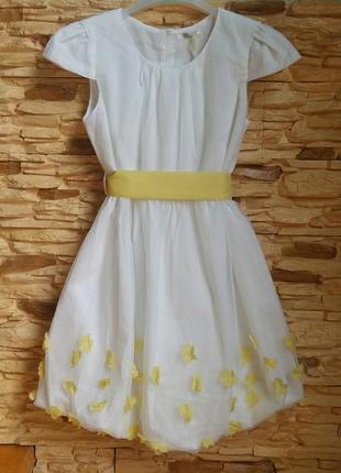 Нарядное платье gaialuna (италия) на 12-13 лет (размер 152-158)