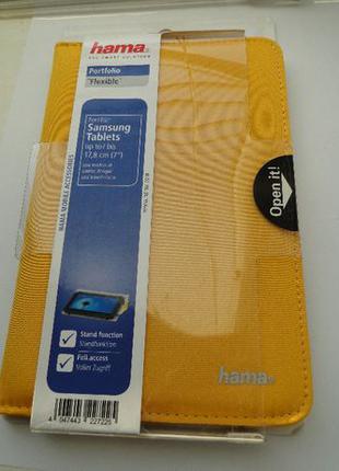 Чехол для планшета Samsung размером до 7 дюймов (18,7 см). HAMA
