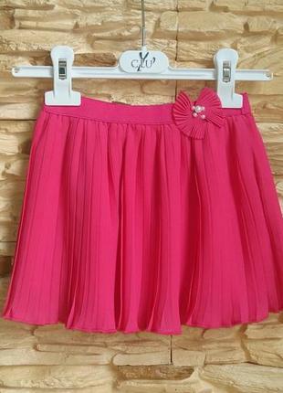 Плисерованная юбка gaialuna (италия) на 4-5 лет (размер 106)