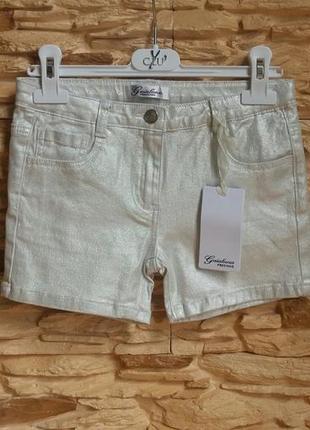 Короткие шорты/бермуды gaialuna (италия) на 8 лет (размер 130)