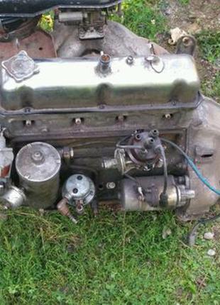 Мотор волга з коробкою Газ 24-01