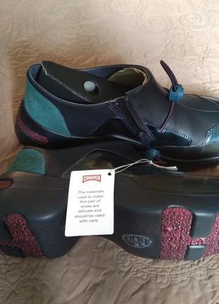 Новые, ультрамодные и очень лёгкие кроссовки camper ботинки кожа