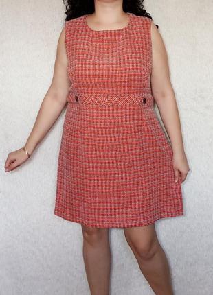 Новое плотное платье сарафан 20р