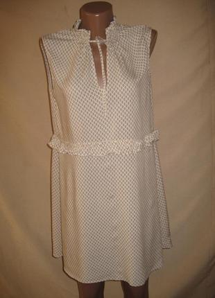 Вискозное платье h&m р-р12