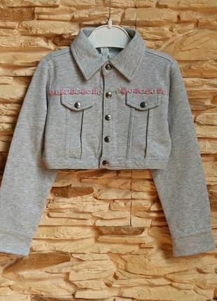 Укороченная курточка/жакет/пиджак/кофта gaialuna (италия) на 3...