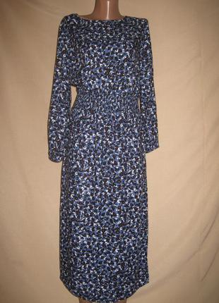 Вискозное платье некст petite р-р10p