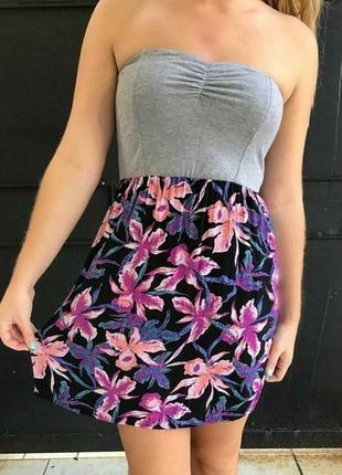 Распродажа! лёгкий летний сарафан платье в цветы вискоза