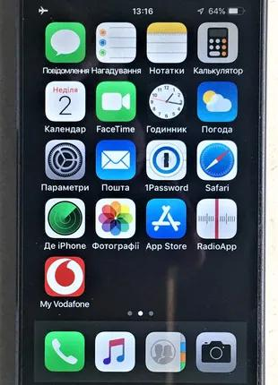 iPhone 5s 64Gb Space Gray Neverlock
