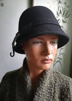 Женская фетровая шляпа новая