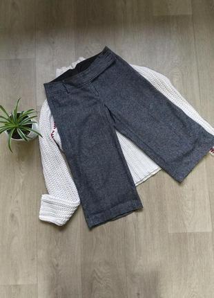 Тёплые кюлоты  шорты бриджи брюки new look