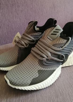 Мусжкие сетчатые кроссовки adidas alphabounce