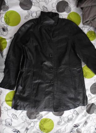 Куртка шкіряна нова батал