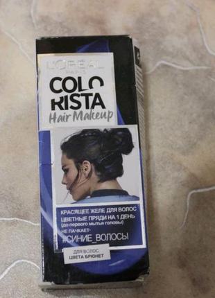 Красящее желе для волос loreal colorista