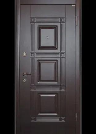"""Входная дверь """"Квадро"""" металл 1,5 мм"""