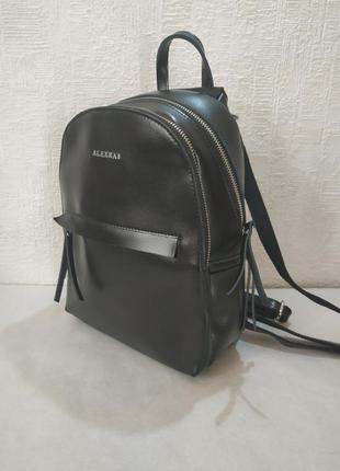 Рюкзак женский кожаный от тм alexrai