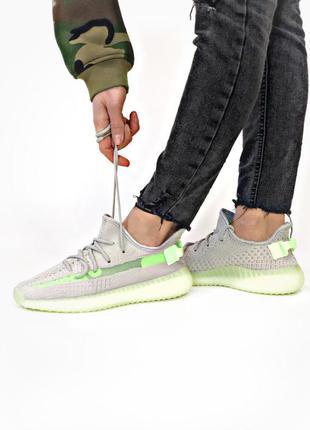 Adidas yeezy boost 350 grey шикарные мужские кроссовки адидас ...