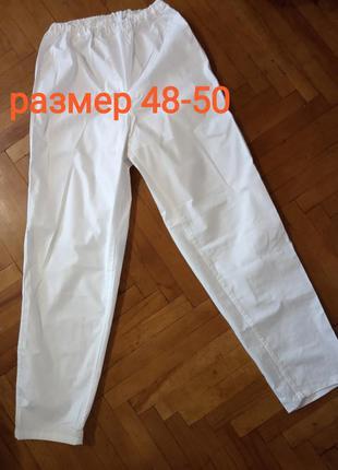 Нижнее мужское белье, нательные штаны,кальсоны х.б на резинке
