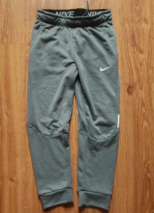 Крутые спортитвные штаны мягкие теплые nike boys' dry fleece g...