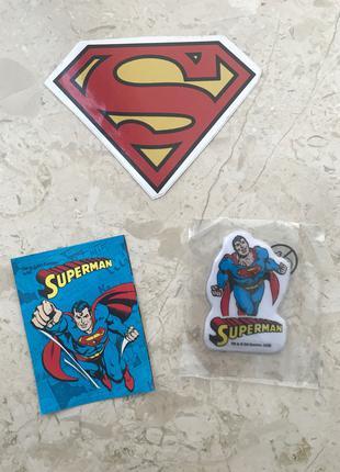 Набор стикеров по Супермену