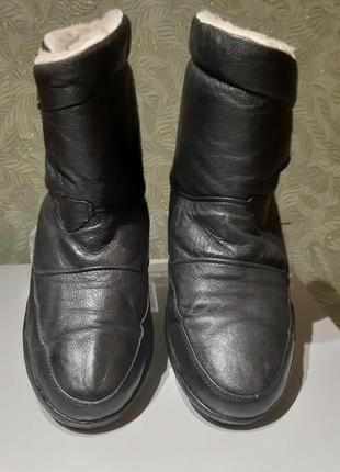 Frostbite сапоги женские ботинки черные зима демисезонные