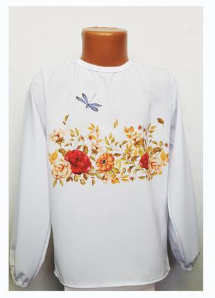 🌼 модные блузки для девочек 424646