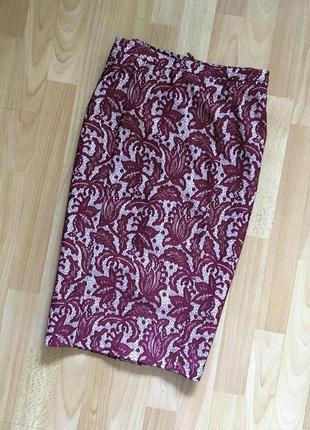 Доступно - шикарная юбка-карандаш с гипюровым покрытием *tu* 1...