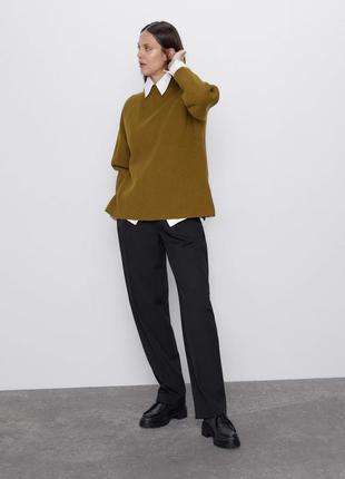 Базовый свитер zara р. l