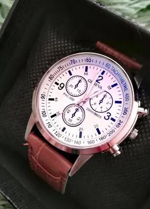 Солидные/стильные мужские часы Geneva.