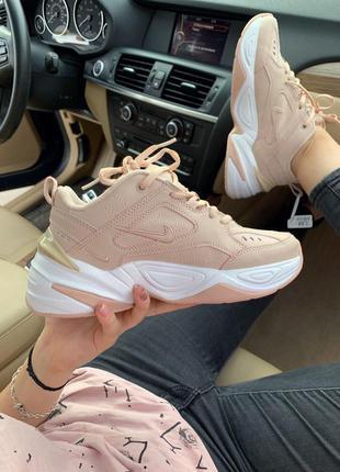 Nike m2k beige  шикарные женские кроссовки найк