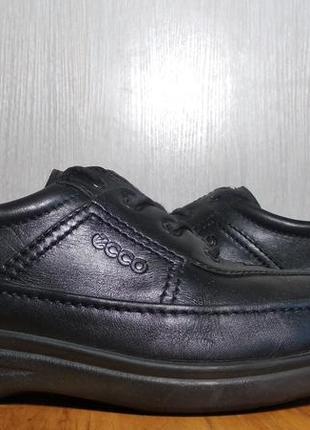 Мужские кожаные туфли ecco (оригинал) 43 р.
