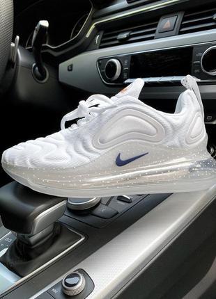 Шикарные женские кроссовки nike air max 720 белый цвет (весна-...